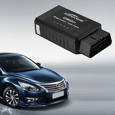ELM327 OBD2 OBDII Mini Bluetooth Wireless Car Scan Tool Auto Diagnostic Scanner