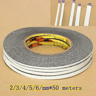 3/4/5/6mm x 50M Double Sided Adhesive Tape Sticker Phone Tablet PC Screen Repair
