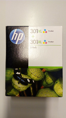 Pack  Cartuchos HP 301XL Color