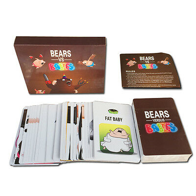 Card Games about Bears vs Babies monster creators Toys Gifts For adults