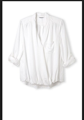 Country Road Women's White Shirt, Size S, Like new