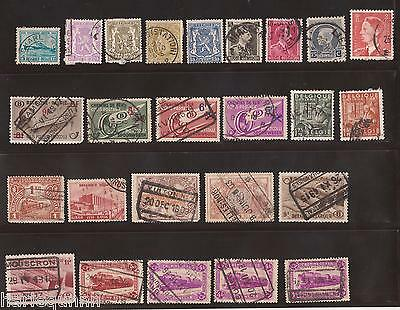 Belgium Belgie Belgique Stamps Collection  Sheets Used To Mint - See Scan #b