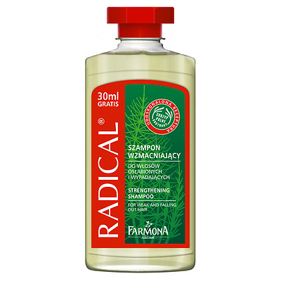 Radical Shampoo Strengthening For Weak Falling Out Hair Horsetail Extract - R07