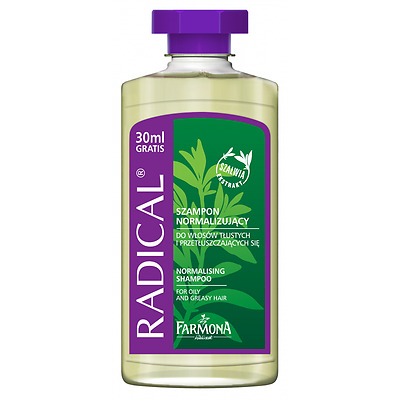 RADICAL NORMALISING SHAMPOO FOR OILY AND GREASY HAIR FARMONA 330ml R09
