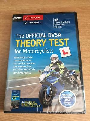 Official DVSA Motorbike/Motorcycle Theory Test DVD for PC and MAC