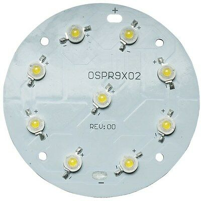 TruOpto OSPR9X02-M7XZE1E1E Warm White 4000K 9x1W Power LED 765lm