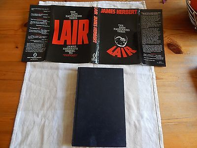 Lair By James Herbert 1st Edition 1979 NEL