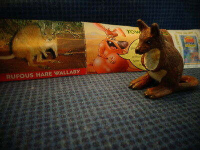 Yowies Series 2 UK YOWIES, * RUFOUS HARE WALLABY + PAPERS