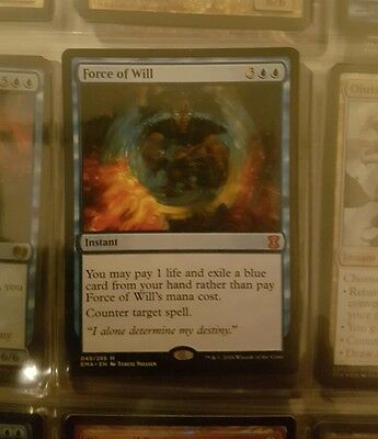 Magic The Gathering Force of Will mythic rare