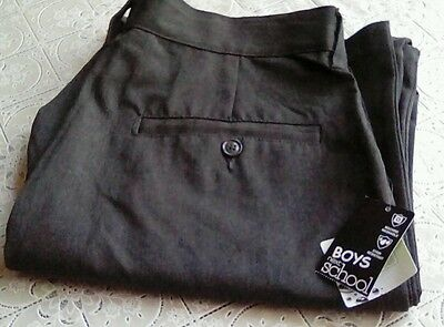 BNWT boys school trousers from next age 16yrs plus fit