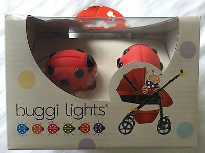 BRAND NEW LADYBIRD BUGGI BUGGY LIGHTS PINK FREE POSTAGE BATTERIES INCLUDED uk