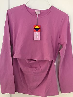 Large Pink Boob Design Nursing Shirt