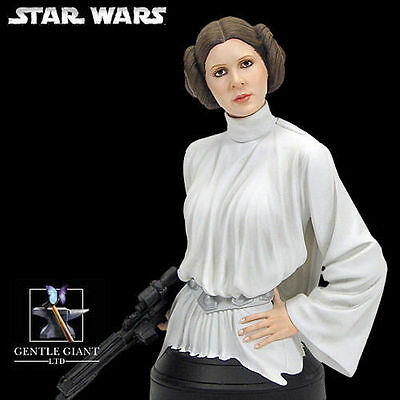 Star Wars A New Hope PRINCESS LEIA mini bust~ANH~statue~Fischer~Gentle Giant~NIB