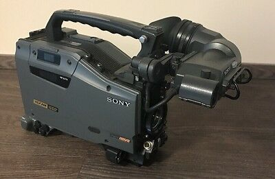 HDW-790P + HDVF-20a VF Sony HDCAM Camera 687 Drum Hours