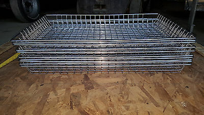 "10 Mesh Donut Frying Glazing Screens Doughnut Rack Basket Wire 16 1/2"" x 26 1/2"""