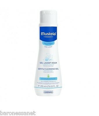 Mustela Bebe Gentle Cleansing Gel 200ml For body and hair, ideal for daily use