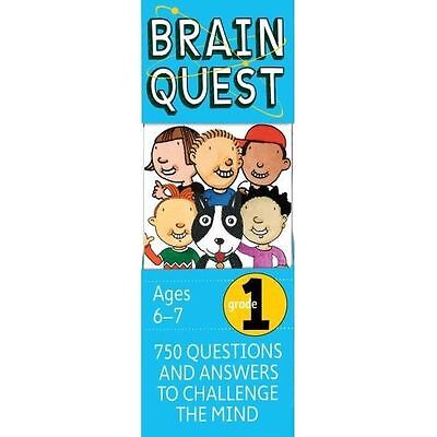 Brain Quest - 1st Grade - 4th Edition by Workman Publishing (9780761166511)