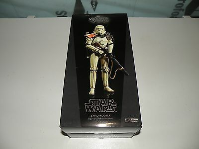 "Sideshow Star Wars SANDTROOPER 1/6th Scale 12"" Squad Leader Militaries Tatooine"