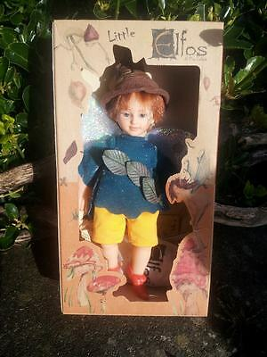 Uriel~WISDOM Pixie/Faerie/wings Doll Little Elfos CollectableToy