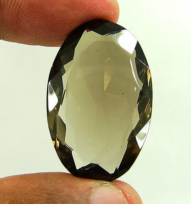 56.30 Ct Natural Oval  Smoky Quartz Brown  Loose Gemstone  Stone- R3313