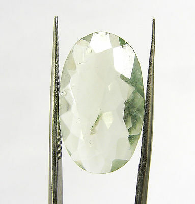 9.10 Ct Natural Green Amethyst Loose Gemstone Oval cut Beautiful Stone - R3760