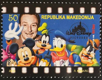 DISNEY 50.Todesstag - Makedonien / Macedonia 2016 °/cancelled