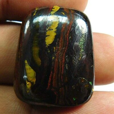 45.60 cts 100% Natural Designer Iron Tiger Fancy Shape Quality Cabochon Gemstone