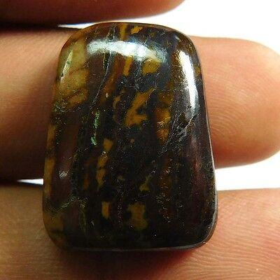 30.05 cts 100% Natural Designer Iron Tiger Fancy Shape Quality Cabochon Gemstone
