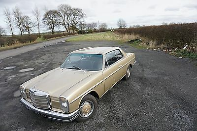 Mercedes W114 coupe 250ce Loads of work done L@@k