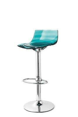Calligaris Connubia Stool Leau 1477 Barstool height adjustable rotatable