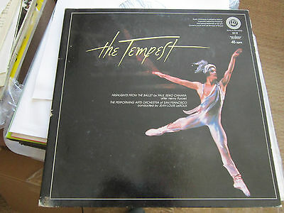 Tempest Reference Recordings Audiophile 45rpm RR-10 Japanese Super Analogue LP