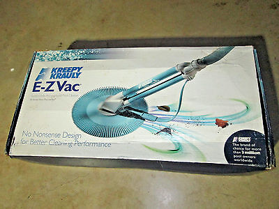 Never Used Kreepy Krauly E-Z Vac Suction Side Above Ground Pool Cleaner Vacuum