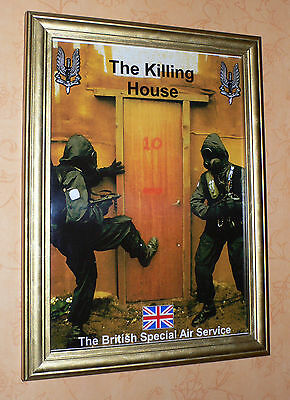 Special Air Service 22 Sas Killing House Framed Print Military Army Soldier