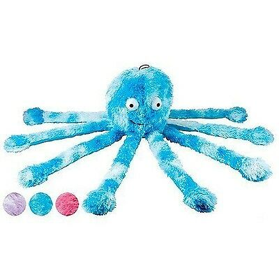 Gor Pets Fun Dog Chew Toy Soft Cuddly with Squeeky Feet Baby Octopus (Assorted)