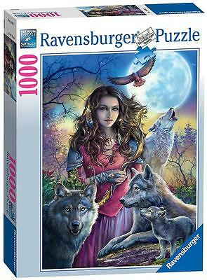Ravensburger 19664 High Quality Protector of Wolves 1000 Pieces Jigsaw Puzzle