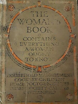 The womens book everything you need to know 1911