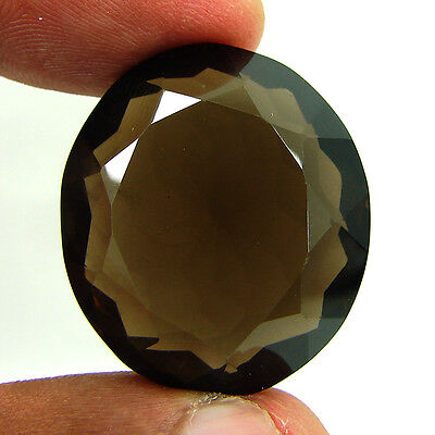 71.90 Ct Natural Oval  Smoky Quartz Brown  Loose Gemstone  Stone- R3305