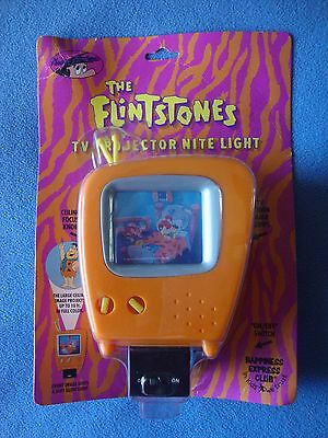 The Flintstones Tv Projector Nite Light, 1994, New In Package, Ceiling Projector
