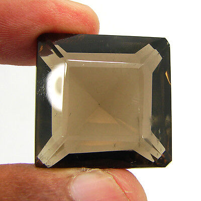 75.75 Ct Natural Emerald Smoky Quartz Brown  Loose Gemstone  Stone- R3357