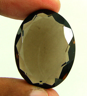 67.40 Ct Natural Oval  Smoky Quartz Brown  Loose Gemstone  Stone- R3307