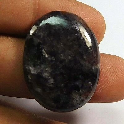 32.40 cts 100% Natural Charoite Oval Shape Loose Cabochon Untreated Gemstone