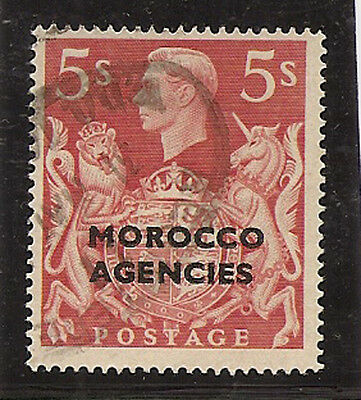 MOROCCO AGENCIES 1949 5s red  SG93 used