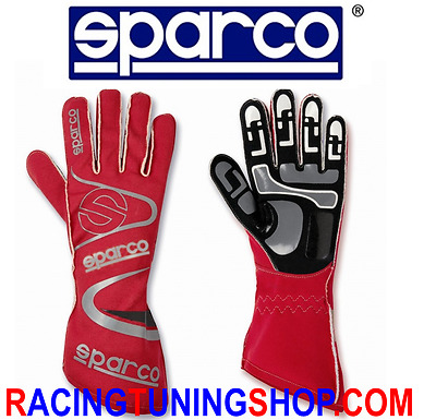 Guanti Kart Sparco Arrow K-7 Karting Gloves Handschuhe Taglia Size 08 Red