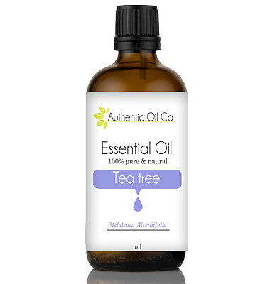 Tea Tree Essential Oil Pure 10/50/100/500ml 1 Litre Natural Aromatherapy Massage