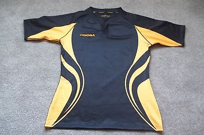 Kooga  Rugby Shirt  Size 2Xl  In Black & Orange