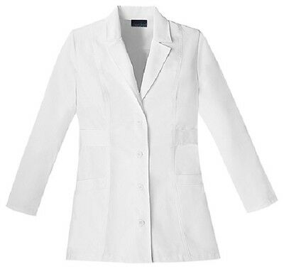 "Cherokee 30"" Lab Coat 2316 WHTC White Free Shipping"