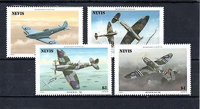 set of 4 mint spitfire annaversary stamps