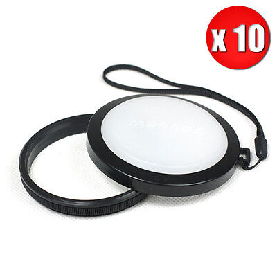 10Pcs Wholesale 37mm White Balance Lens Cap Filter for SLR DSLR Digital Cameras