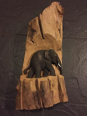 Elephant Thai Woodcarving