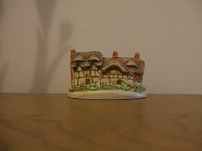 Hand Made and Painted ANNE HATHAWAY`S COTTAGE by Local Artist.